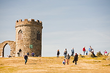 Old John Tower built in 1784 in Bradgate Park in Leicesterhsire by the Earl of Stamford, England, United Kingdom, Europe