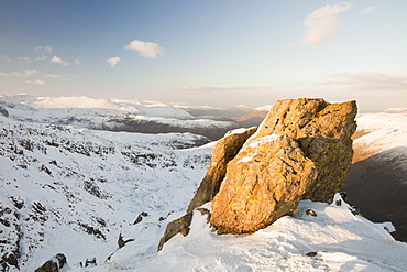 Red Screes in the Lake District, Cumbria, England, United Kingdom, Europe