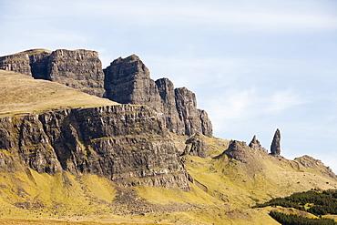 The Old Man of Storr on the Trotternish Peninsula, Isle of Skye, Scotland, United Kingdom, Europe