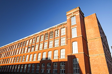 Centenary Mill, an old Lancashire cotton mill in Preston, Lancashire, England, United Kingdom, Europe
