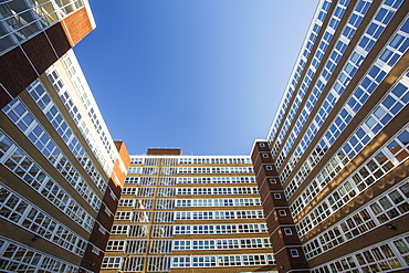 Office blocks in Preston, Lancashire, England, United Kingdom, Europe