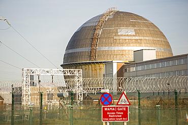 Sellafield nuclear power station near Seascale in West Cumbria, England, United Kingdom, Europe