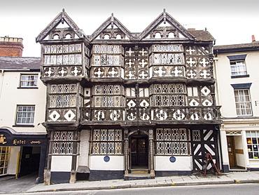 The Feathers Hotel in Ludlow, Shropshire, England, United Kingdom, Europe