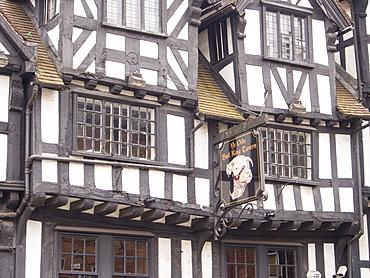 Ye Olde Bull Ring Tavern, Ludlow, Shropshire, England, United Kingdom, Europe