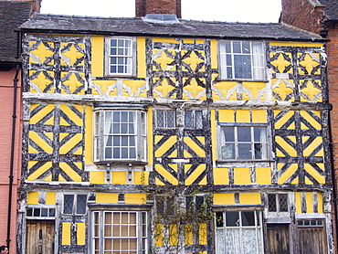 The ancient house on Corve Street in Ludlow, Shropshire, England, United Kingdom, Europe
