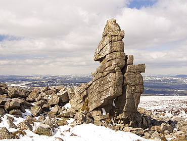 The Stiperstones in Shropshire, England, United Kingdom, Europe