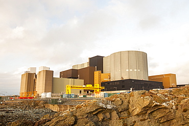 Wylfa nuclear power station on Anglesey, Wales, United Kingdom, Europe