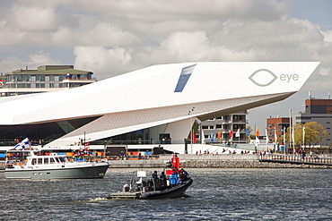 The Eye, a museum of film in Amsterdam, Netherlands, Europe