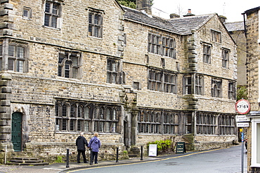 An old manor house in Settle, Yorkshire, England, United Kingdom, Europe