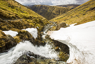 Raise Beck above Dunmail Raise in the Lake District, Cumbria, England, United Kingdom, Europe