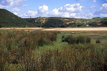 Pennard Pill and Pennard Castle, Gowergower