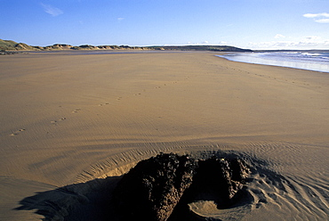 Low tide, Beach, Freshwater West, Pembrokeshire Coast, West Wales