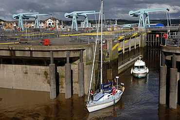 Cardiff Bay Barrage, Cardiff, Wales, UK, Europe