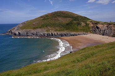 Beach, Mwnt, Ceredigion, Wales, UK, Europe