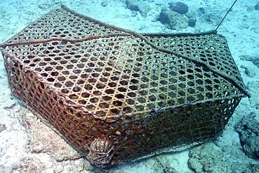 Fish trap, Mahe, Seychelles, Indian Ocean