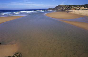 Praia de Furnas, Vila Nova de Milfontes, Portugal, Europe