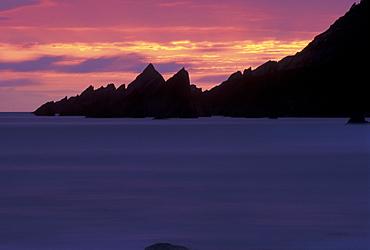 Sunset, West Dale, Pembrokeshire, Wales