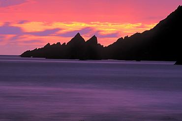 Sunset, West Dale