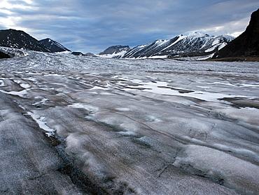 Horbyebreen, Billefjorden, Spitsbergen, Svalbard, Norway, Scandinavia, Europe