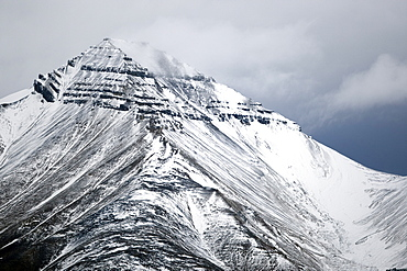 Billefjorden, Spitsbergen, Svalbard, Norway, Scandinavia, Europe