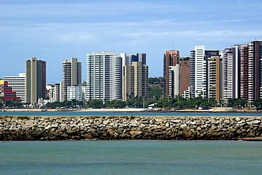 Iracema Beach, Fortaleza, Ceara, Brazil, South America