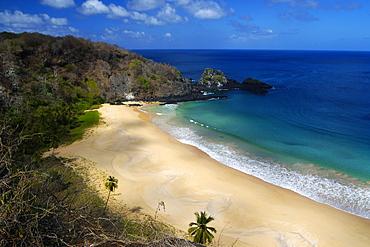 Sancho's beach, Fernando de Noronha national marine sanctuary, UNESCO World Heritage Site, Pernambuco, Brazil, South America