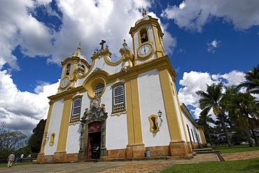 St. Anthony Church, main colonial building at Tiradentes, Minas Gerais, Brazil, South America