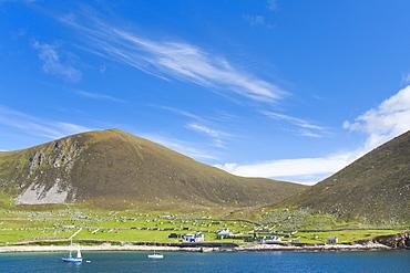Village Bay, Hirta island, St. Kilda Islands, Outer Hebrides, Scotland, United Kingdom, Europe