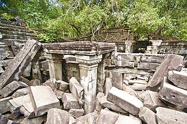 Ta Prohm Temple, Angkor, UNESCO World Heritage Site, Siem Reap, Cambodia, Indochina, Southeast Asia, Asia