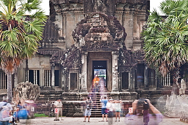 Temple Complex of Angkor Wat, Angkor, UNESCO World Heritage Site, Siem Reap, Cambodia, Indochina, Southeast Asia, Asia