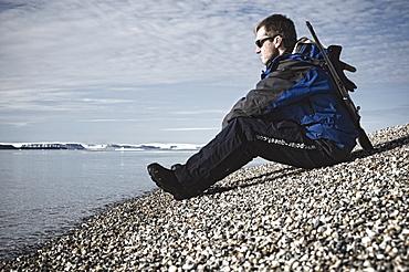tour guide, scout. Longyearbyen, Svalbard, Norway