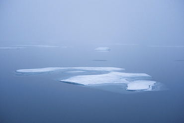 Fragmented Ice. Longyearbyen, Far Northern Ice Sheets, Svalbard, Norway