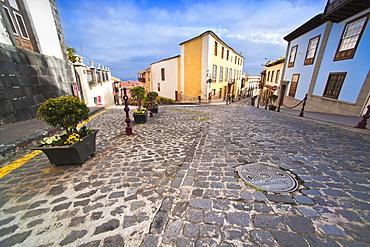 Town Center. Santa Cruz, La Orotava (world heritage site), Tenerife Island. Canary Islands