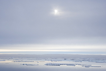 Outer Ice sheets. Longyearbyen, Svalbard, Norway
