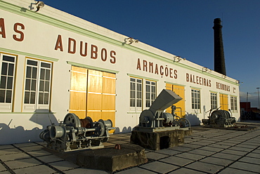 An old whaling station. Azores.