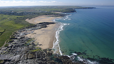 Booby's Bay and Constantine Bay. Cornwall, UK