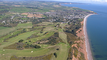 Budleigh Salteron Golfcourse. Devon, UK