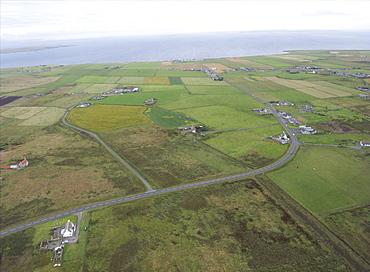 Paramotoring  2 miles from John O'Groats. Scotland, UK