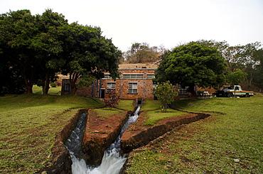 Hydroelectric power station on Lake Tanganyika, Zambia, Africa