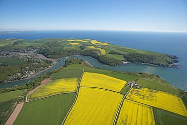 Newton Ferries showing Newton Creeks. Devon. UK