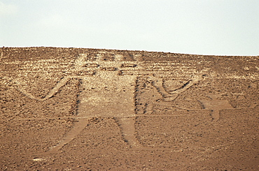 Giant of the Atacama, petroglyph, Chile, South America