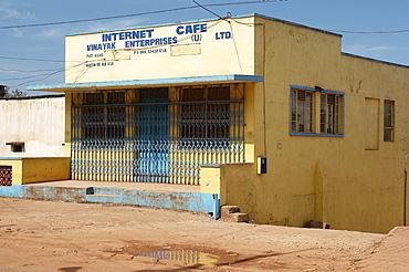 Internet cafe in Kampala, Uganda's Capitol City. Kampala, Uganda, East Africa