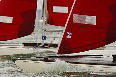 Smaller Class Yachts Racing Skandia Cowes Week 2008
