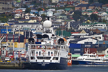 Expedition ship Clipper Adventurer operating from Ushuaia, Argentina to the Antarctic Peninsula in Antarctica, Southern Ocean