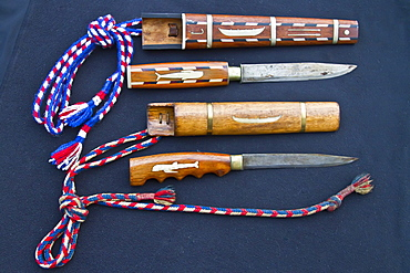 Traditional whaling knife from Faoroe Islands. This knife is the Faroese pilot whale hunt's most distinguished equipment