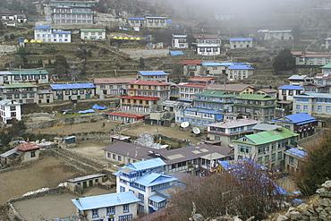 Namche Bazaar, Everest Trail, Nepal