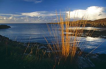 Loch Cuin. Hebrides, Scotland