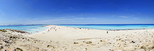 Les Illetes und Llevant beaches, Formentera, Balearic Islands, Spain