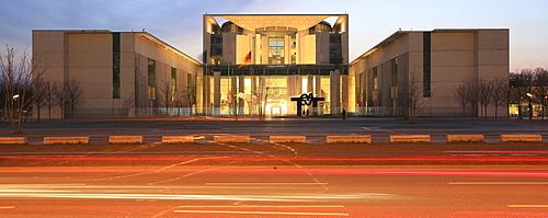 German chancellery, Governmental quarter, Berlin, Germany