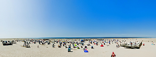 at the beach of St. Peter-Ording, Northern Frisia, Schleswig-Holstein, Germany